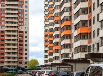 Фасадные решения жилых домов в ЖК Домодедово парк